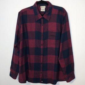 Dickies plaid soft flannel shirt